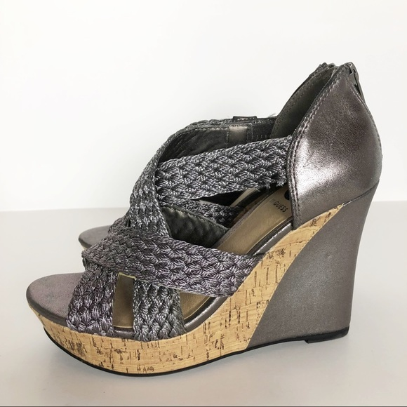 6aa56e1f24d7 G by Guess Shoes - G By Guess Excela Wedges Sandals. 7.